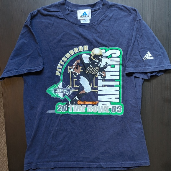 2003 Pittsburgh Panthers Tire Bowl T shirt
